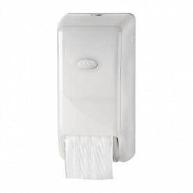Дозатор за тоалетна хартия с две ролки - вертикален