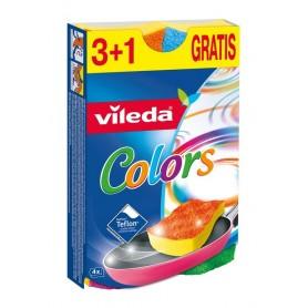 Кухненска гъба Vileda  Colors 3+1