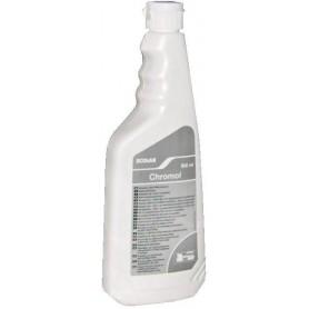 Препарат за поддържане на повърхности от неръждаема стомана, хром и алуминий