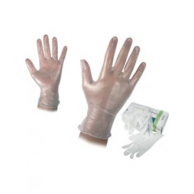 Еднократни ръкавици от винил