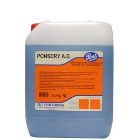 Изплакващ препарат за професионални съдомиялни машини Ponsdry A.D.- 5 кг.