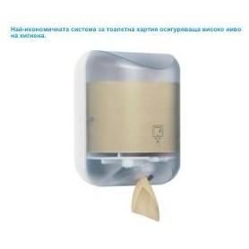 Дозатор за тоалетна хартия лист по лист