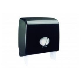 Черен дозатор за тоалетна хартия AQUARIUS -