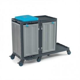 Санитарна количка за почистване и поддържане