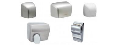 Сешоари за ръце с фотоклетка за подсушаване на ръце от неръждаема стомана или пластмаса с автоматичен сензор за активация.