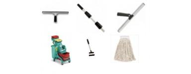 Уреди за стъкла, мопове, колички, стъклочистачи, микрофибърни кърпи, препарати