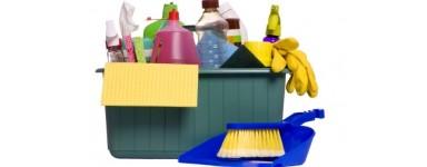 Разнообразие от консумаиви и препарати  за почистване и дезинфекция на дома и офиса.