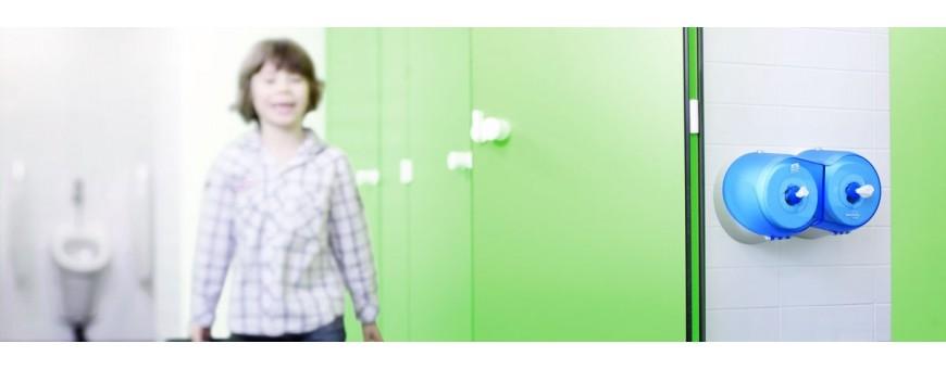 Дозатори и диспенсъри за тоалетна хартия - Tork,Kimberly Clark, KATRIN, Lotus