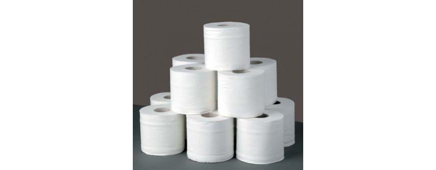Избелена тоалетна хартия на ролки за хотели и ресторанти