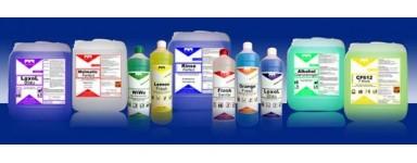 Почистващи алкални неутрални киселинни препарати и дезинфектанти