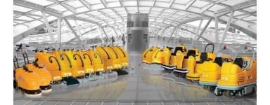 Разнообразие от подопочитващи машини, пароструйки за почистване и дезинфекция, намиращи широко приложение.